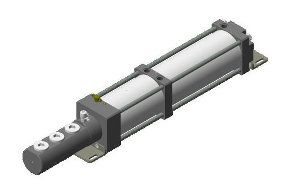 Pneumo-hydraulic power unit