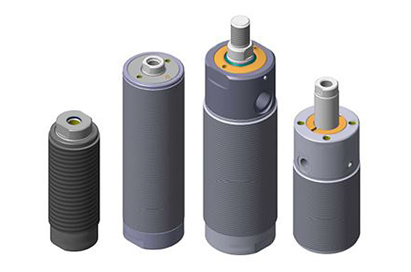 Outer thread cylinders
