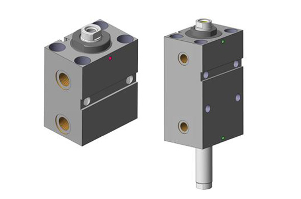 Short stroke hydraulic cylinders